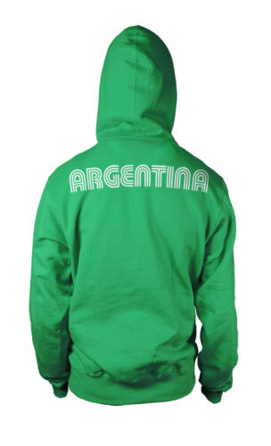Argentina Country Flag Soccer Football Messi La Seleccion 2-tone Hoodie Pullover