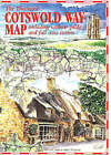 The Cotswold Way Map by Roger Ellis (Sheet map, folded, 1996)