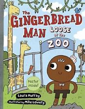 The Gingerbread Man Loose at The Zoo-ExLibrary