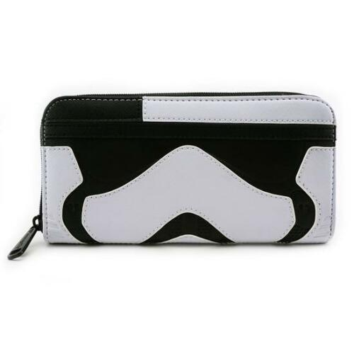 Loungefly Star Wars The Last Jedi First Order Executioner Face  Zip Wallet