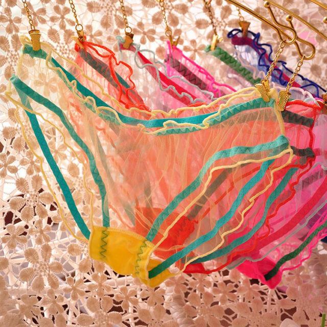 Lot 1 5 12 pcs Women's Sexy Panties Briefs Knickers Bikini Lingerie Underwear F