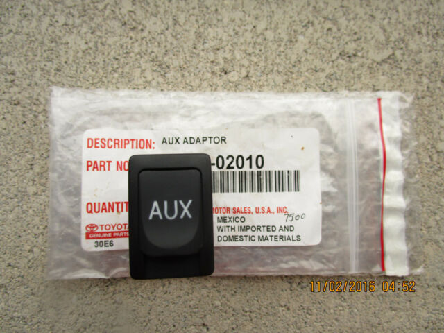 07-14 TOYOTA TUNDRA SR5 LIMITED AUXILIARY AUX ADAPTER /& STEREO JACK NEW 02010