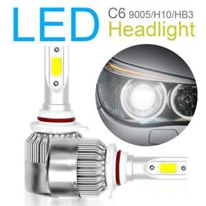 2x-9005-H10-HB3-120W-10800LM-6000K-COB-LED-Car-Headlight-Hi-Low-Mode-Wok-Lamp