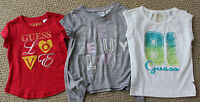 Guess Jeans 2 2t 3 3t Tee Shirt Top S/s Girls Options Gray White Red Free