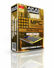Akai MPC Studio Gold Kits/Drum Machine WAV Samples Sounds: Free Digital Delivery