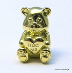 3ade018dc0fa9 Details about NWT AUTHENTIC SILVER PANDORA SHINE THEODORE BEAR CHARM #767236