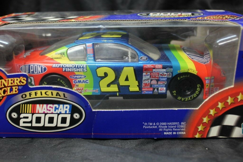 Hasbro Winner's Circle 2000 Jeff Gordon 1 24 24 24 NASCAR Dupont Limited Series 906438