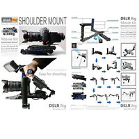 Dslr Rig Movie Kit Shoulder Rig Mount Support Pad For Camera And Camcorder