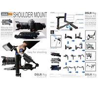 Dslr Rig Movie Kit Shoulder Rig Mount Support Pad For Camera And Camcorder