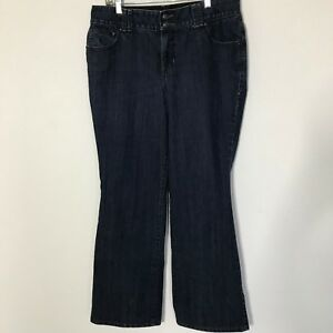 Lane-Bryant-Boot-Cut-Jeans-Size-14-Tighter-Tummy-Technology