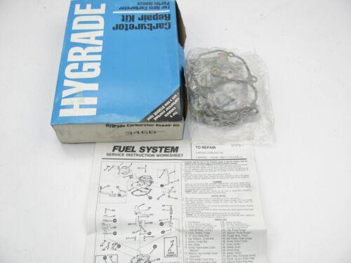 Hygrade 346B Carburetor Rebuild Kit Fits 1975-76 Dodge Plymouth Carter BBD 1-1//4
