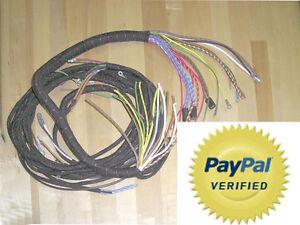 mg td mgtd wire harness loom available also for mg tc mgtc early mg rh ebay com 1956 MG TD Mg Classic Cars