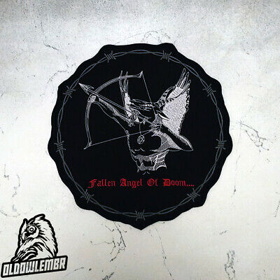 Darkthrone Embroidered Back Patch big black metal patch