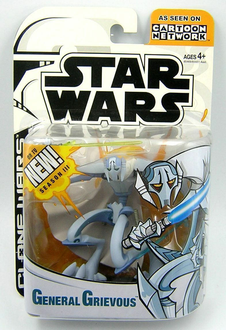 Star wars klonkriegen 2003 animierte serie general grievous ist frei