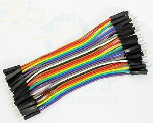 40pcs-Dupont-10CM-Male-To-Male-Jumper-Wire-Ribbon-Cable-for-Breadboard-Arduino