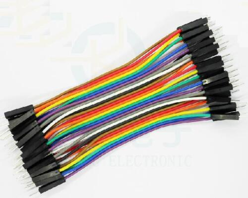 10pcs 40pcs Dupont 10CM Male To Male Jumper Wire Ribbon Cable for Breadboard