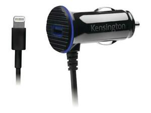 Kensington-Powerbolt-3-4-Amp-Dual-Port-Car-Charger-iPhone-SE-5-6-6S-7-8-X-XS-XR