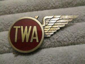 early-Vtg-TWA-Transcontinental-amp-Western-Airlines-Hostess-Flight-Attendant-Wing