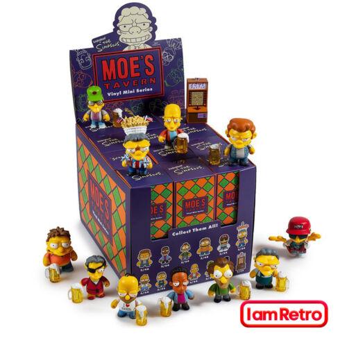 Moe/'s Tavern The Simpsons Mini Série Neuf Scellé Display Case 24 pcs par Kidrobot