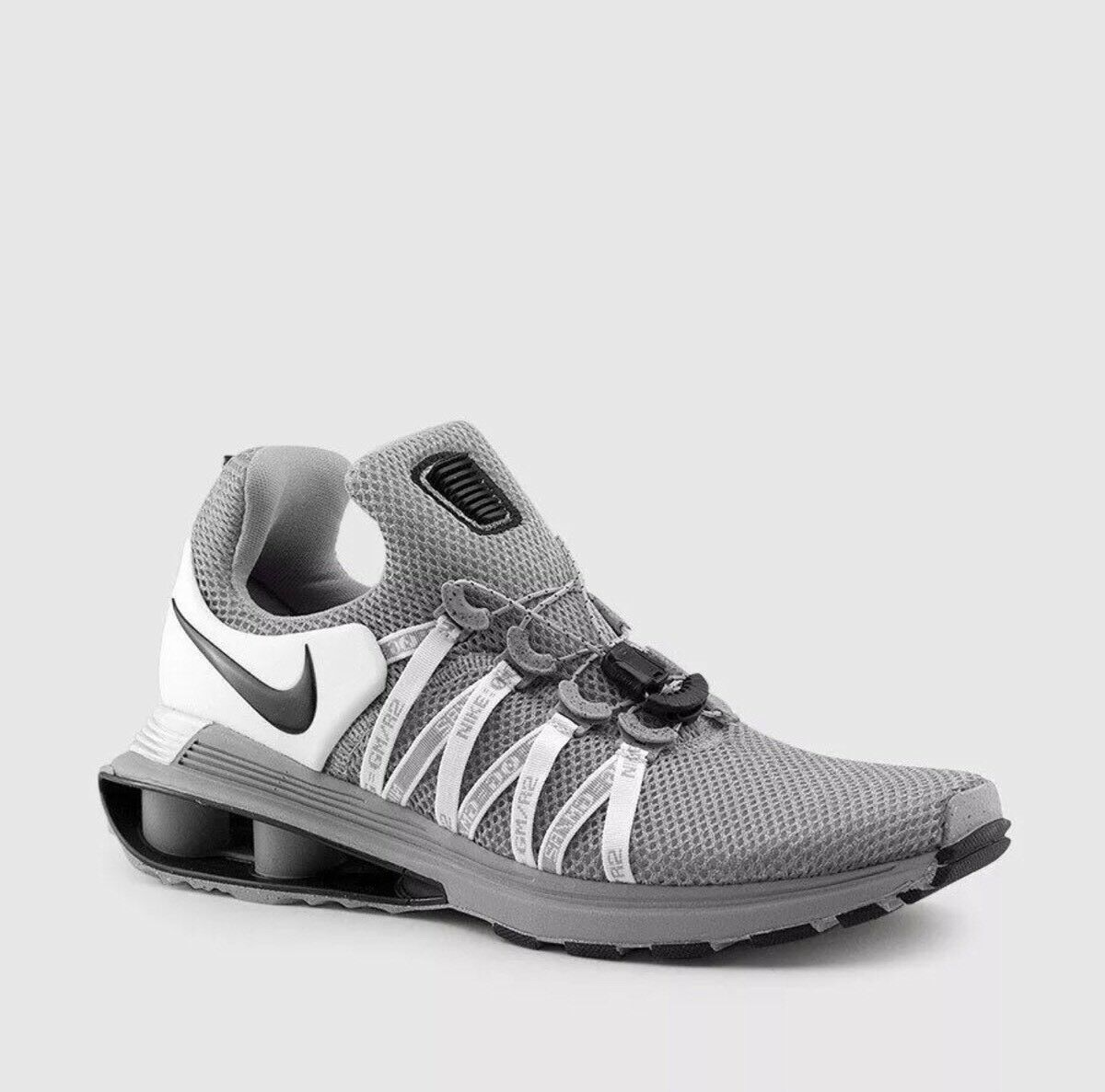New shoes for men and women, limited time discount NEW Nike Shox Gravity Running Shoe Wolf Grey/Black White AR1999-010 Men's Sz 10