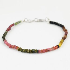 26-45-CTS-NATURAL-MULTICOLOR-WATERMELON-TOURMALINE-ROUND-FACETED-BEADS-BRACELET