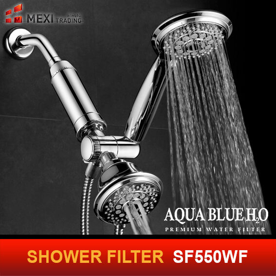 3 x   SHOWER FILTER  - - - 3 STAGE   HIGH PRESSURE  OUTPUT 7bc386