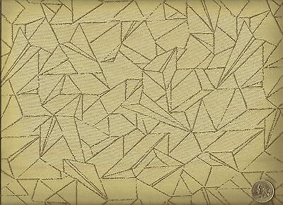 Woven Flight Dove Abstract Geometric Beige Taupe Upholstery Fabric