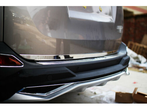 2013-2016 FIT For TOYOTA RAV4 Stainless Rear Tailgate Door Trunk Lid Cover Trim