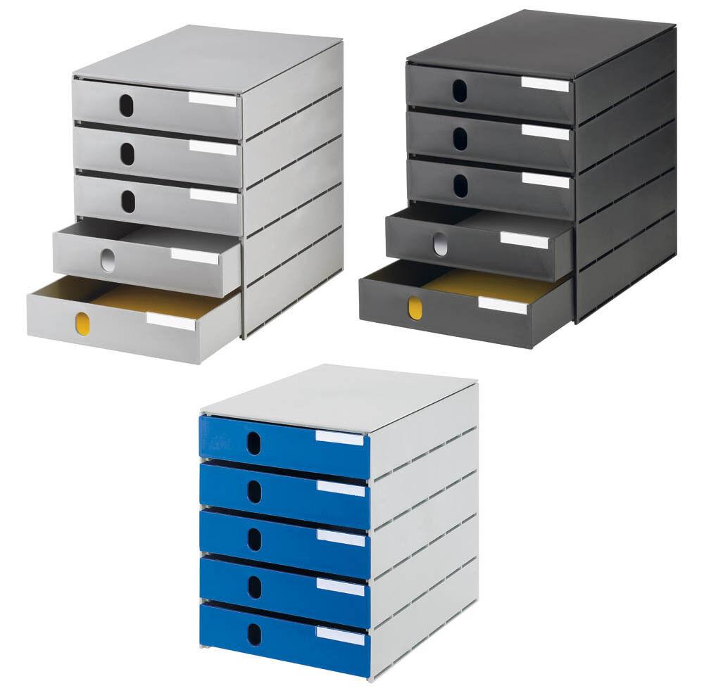 Schubladenbox styro styroval Farbe wählbar mit 5 Schubladen BLITZVERSAND   Ausgezeichnete Qualität    Hohe Qualität Und Geringen Overhead    Spielzeugwelt, glücklich und grenzenlos