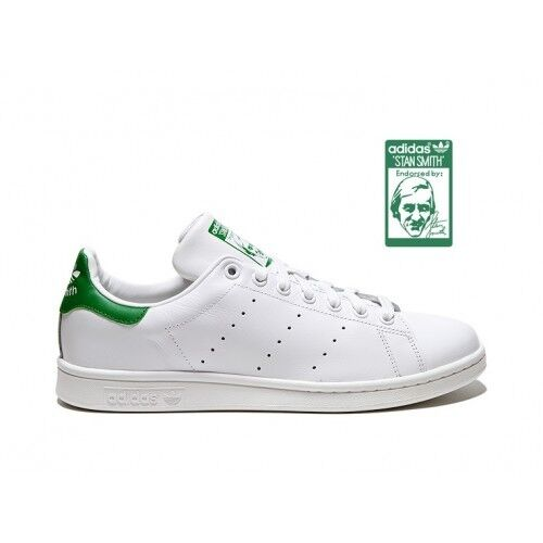 best service baf32 dd882 100 Stan Bianche Adidas Smith Originals Retro Scarpe Verde ® Originali Ita  2018 4ad7Tzn