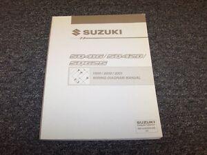 image is loading 1999-2000-2001-suzuki-vitara-suv-electrical-wiring-