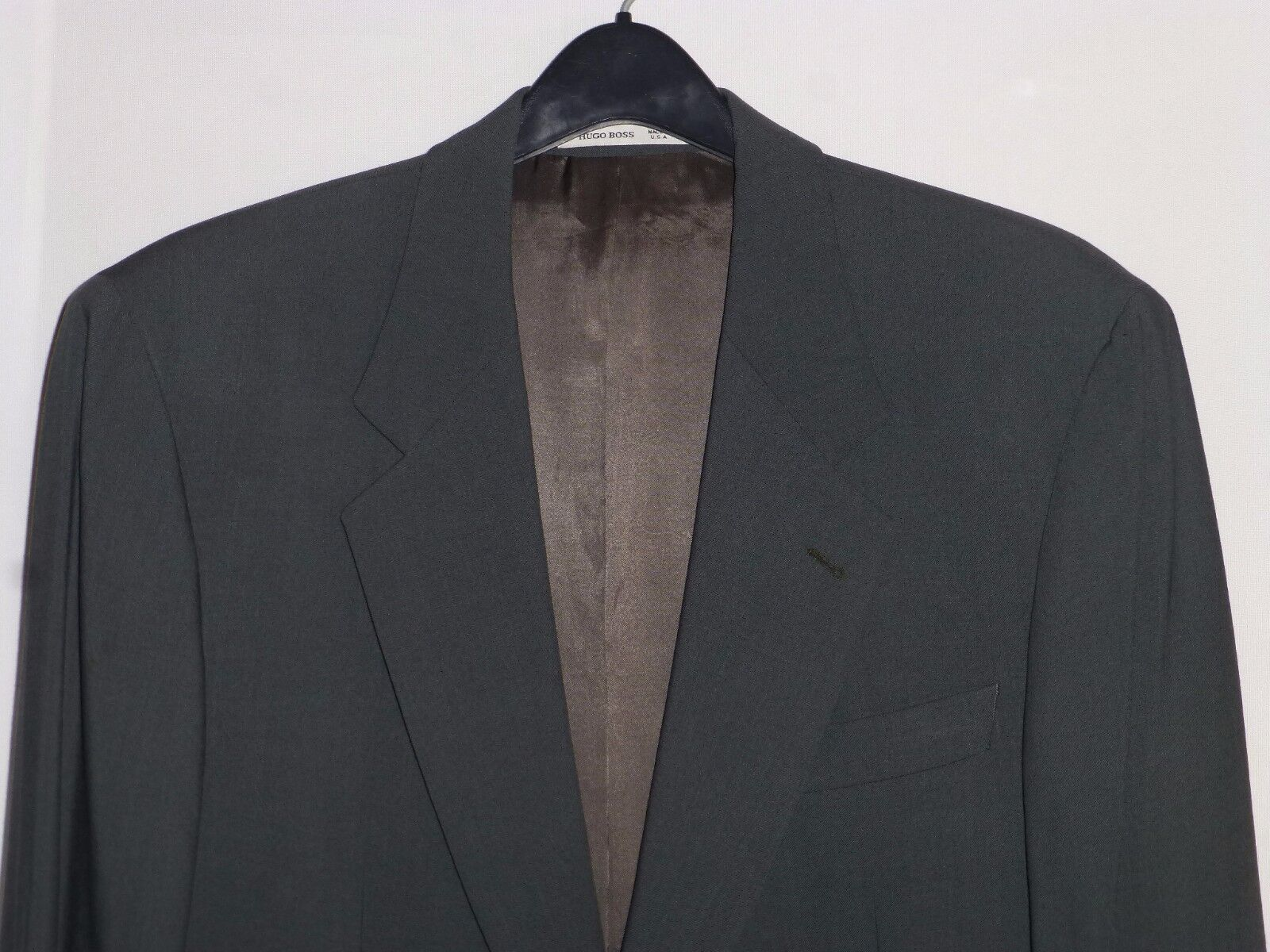 40R 33x31 Hugo Boss Forest Green Mens Wool Suit USA ITALY e 50 Nordstrom