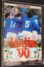 GAZZETTA DELLO SPORT=LE GUIDE DELLA GAZZETTA=ITALIA '90=TUTTO SUL MONDIALE 1990