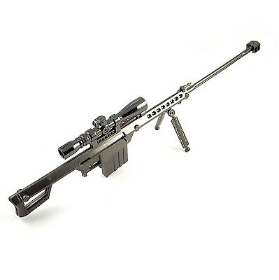 "Cros Fire""The kiss of death ""Barrett M82A1 Sniper rifle Alloy Mode Military Gift"
