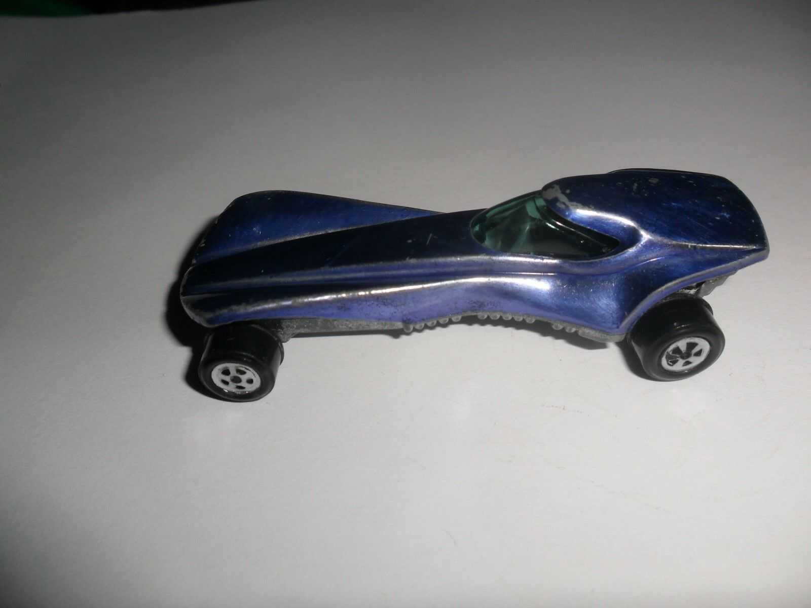1970s Original Topper Johnny Lightning bluee Stiletto