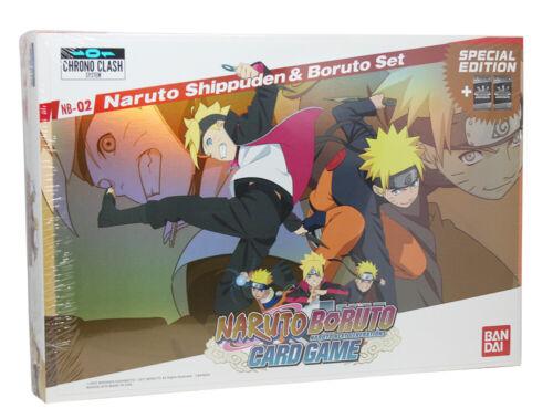 Nb-02 Naruto Shippuden /& boruto Set-anglais
