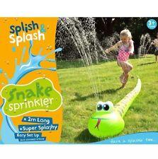 NEW KIDS SPLISH & SPLASH SNAKE WATER SPRINKLER OUTDOOR SUMMER FUN GAME