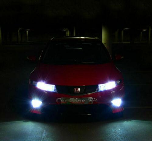 2x Ampoules H11 Feu de Brouillard DEL CREE COB Blanc 6000K Canbus HONDA CIVIC MK8 2005-2012