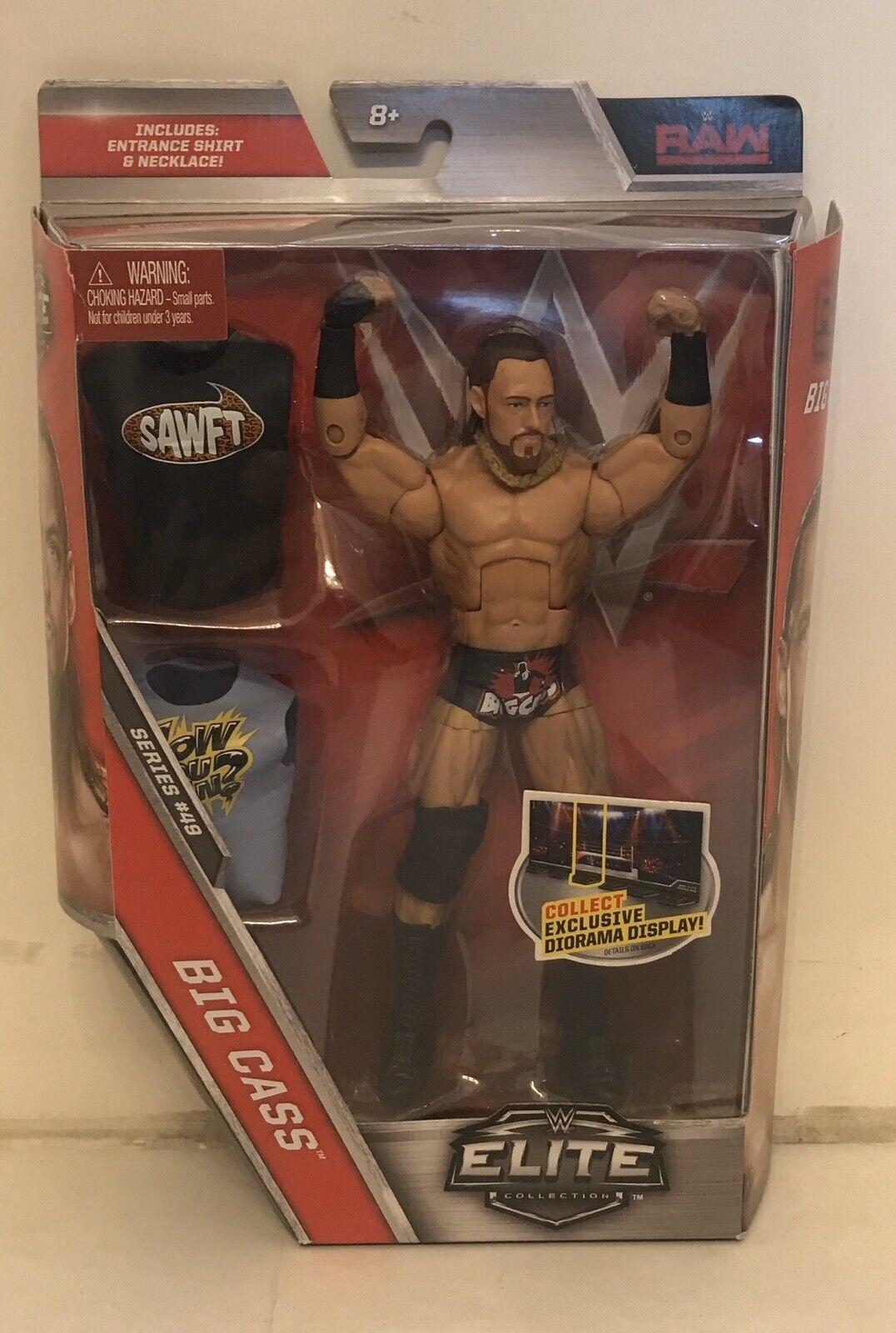 BIG CASS Elite Series 49  WWE Mattel Action Figure Colin Cassidy NxT BC2