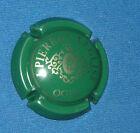 Capsule de Champagne Pierron-Léglise N°5. Vert foncé et or. cote 8.00 €