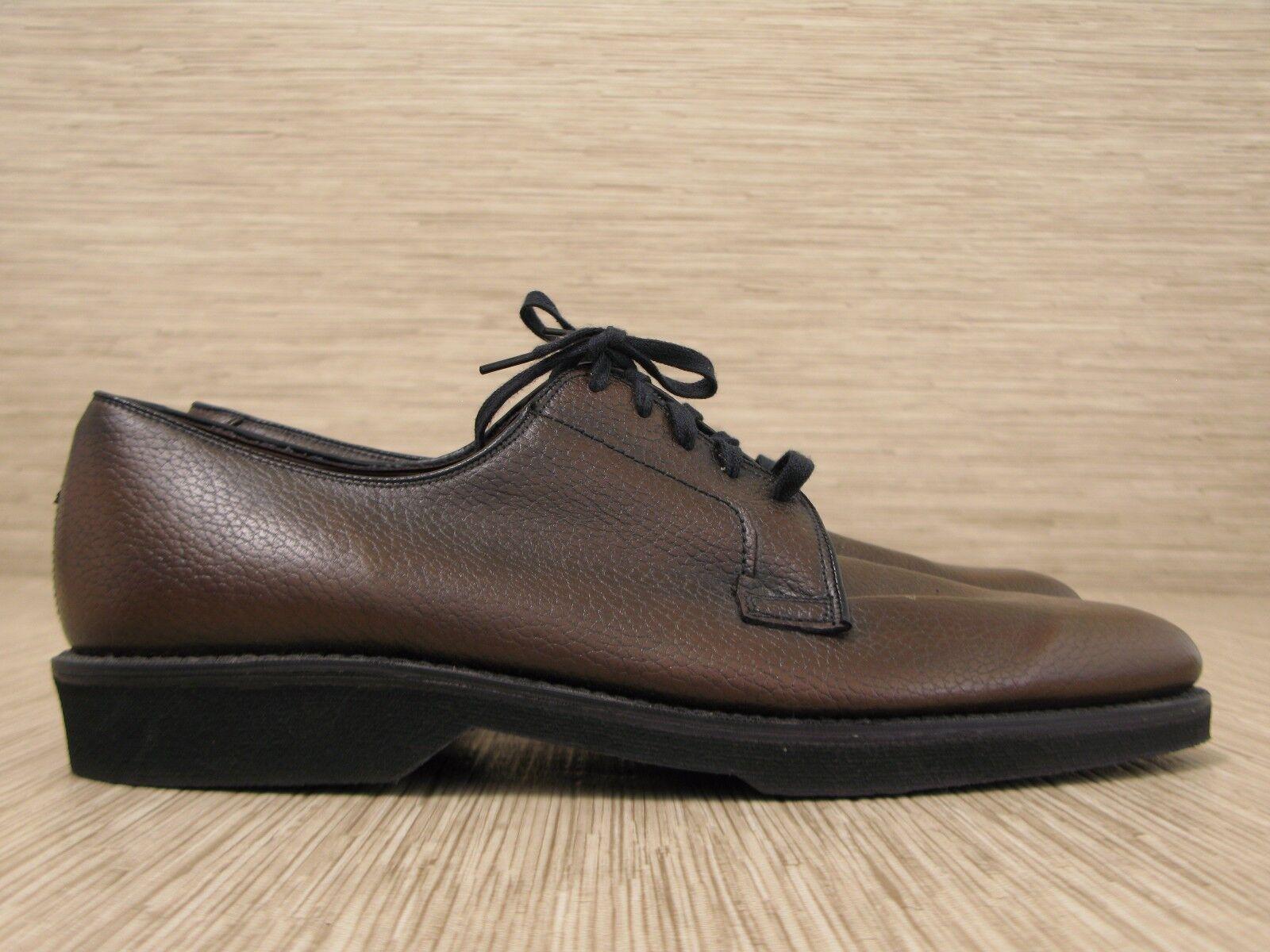 economico online Stacy Stacy Stacy Adams Marrone Leather scarpe Uomo Dimensione US 12 D Lace Up Oxfords Crush-N-Crepe  prezzi bassi