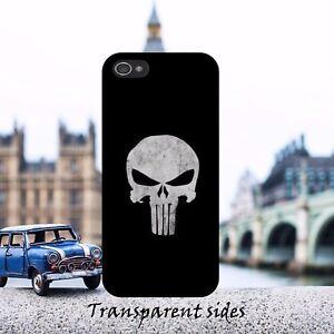 Punisher-Logo-Skull-Metal-Black-Hard-Phone-Case-Cover-Fits-iPhone-Samsung-models