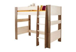Steens Etagenbett Weiß : Steens for kids bett hochbett kinderbett kiefer massiv white wash