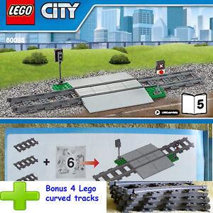 Lego Heavy-Haul Train 60098 Double Wide Road Crossing Book-5 B5 +4 Bonus curveTr
