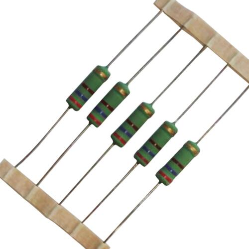 from £0.35//each 0.22-470 ohm Round 5W Wire wound Resistors
