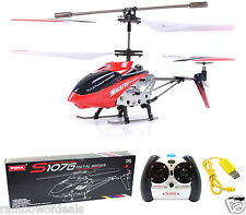 Syma S107G 3 Channel 3.5 CH Mini Remote Control RC Helicopter Gyro Genuine LED