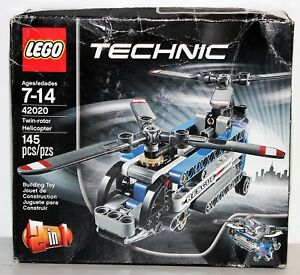 Image is loading LEGO-Technic-42020-Twin-Rotor-Helicopter-Model-Kit-