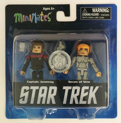 Stark Trek Minimates Legacy Toys R Us Series 1 Captain Janeway