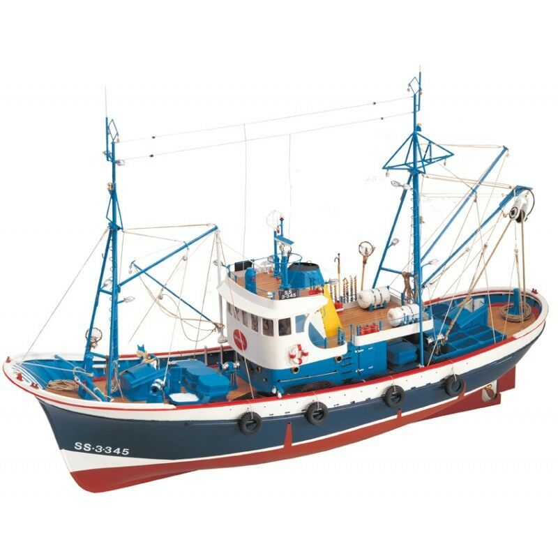 Artesania Latina Marina II 1 50 Scale Model Boat Kit