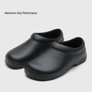 Men's Work Clogs Non-slip Shoes Slip